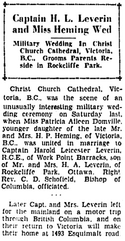 The Ottawa Citizen, August 10, 1934, page 15, columns 4-5 (selected portions).