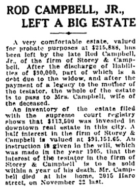 Vancouver Sun, January 28, 1920, page 14, column 1.