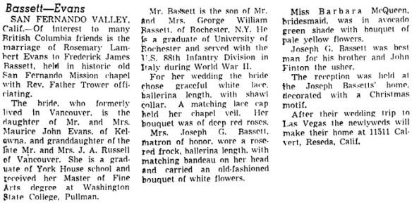 Vancouver Sun, December 29, 1955, page 19, column 1