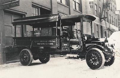 Selden Truck, Photographs of Early Automobiles, Sanctuary Books, http://sanctuaryrarebooks.com/featured/photographs-of-early-automobiles/.
