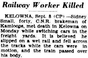 Victoria Daily Colonist, September 9, 1931, page 3, column 4; http://archive.org/stream/dailycolonist0931uvic_5#page/n2/mode/1up.