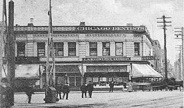 Templeton Block, about 1910, postcard, Chapman, [detail].