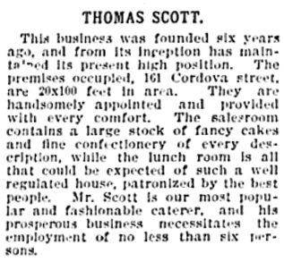 Vancouver Daily World, June 20, 1896, page 18, column 2.