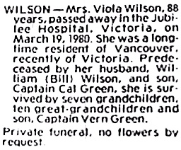 Victoria Daily Colonist, March 21, 1980, page C-13.