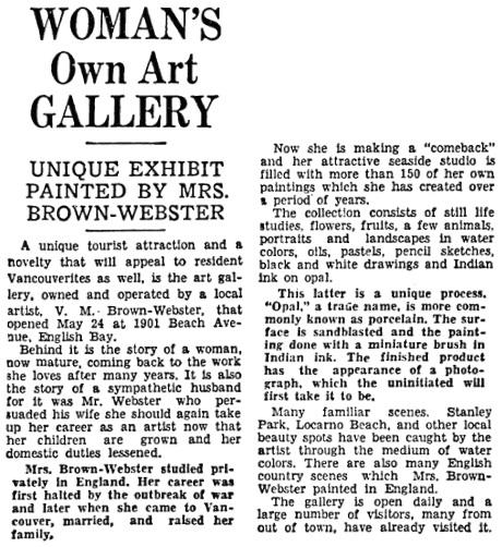 Vancouver Sun, June 1, 1935, page 7, column 1.