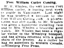 Vancouver Province, January 7, 1910, page 22, column 1.
