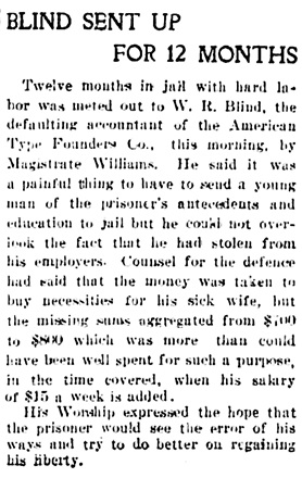 Vancouver Daily World, June 5, 1905, page 1, column 5.