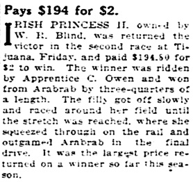 St. Louis Post-Dispatch (St. Louis, Missouri), January 15, 1928, page 20, column 7.