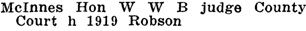 Henderson's Greater Vancouver Directory, 1911, Part 1, page 883.