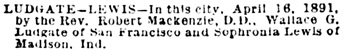 San Francisco Call, Volume 69, Number 139, 18 April 1891, page 8, column 7; https://cdnc.ucr.edu/cgi-bin/cdnc?a=d&d=SFC18910418.2.120.2.