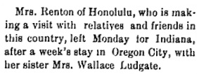 Oregon City Enterprise, November 13, 1896, page 6, column 2; https://oregonnews.uoregon.edu/lccn/sn00063700/1896-11-13/ed-1/seq-6/.