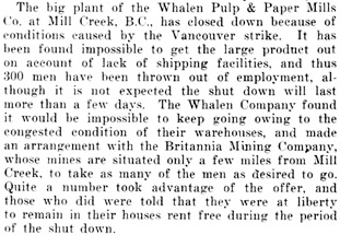 Pulp and Paper Magazine of Canada, July 3, 1919, page 535, column 2; https://archive.org/stream/pt2pulppapermagaz17gard#page/534.