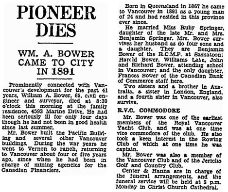 Vancouver Sun, December 17, 1932, page 18, column 4; https://news.google.com/newspapers?id=TC5lAAAAIBAJ&sjid=zIgNAAAAIBAJ&pg=1239%2C2029875.