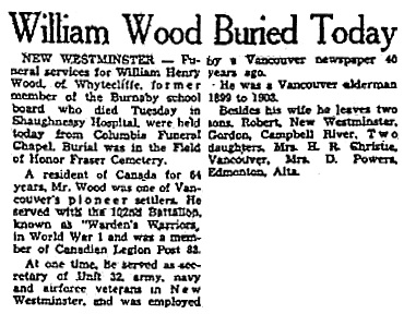 Vancouver Province, October 16, 1947, page 6.