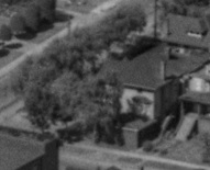1050 Gilford Street, 1954; detail from BO-54-211 : First Beach, Vintage Air Photos; http://vintageairphotos.com/bo-54-211/.