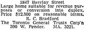 The Vancouver Sun, July 7, 1951, page 35, column 8 [selected portions].