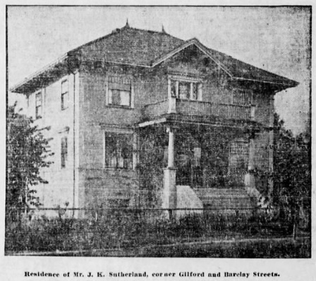 1901 Barclay Street, Vancouver Province, October 21, 1905, page 24, columns 2-3.