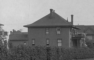2001 Nelson Street, detail from Nelson Street, Vancouver, about 1915; Vancouver City Archives, Str P181.2; https://searcharchives.vancouver.ca/nelson-street-vancouver.