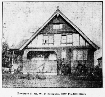2067 Pendrell Street, Vancouver Province, October 21, 1905, page 24, columns 2-3.
