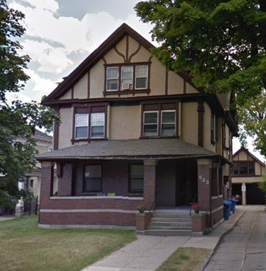 523 West South Street, Kalamazoo, Michigan; Google Streets, searched June 23, 2018; image dated June 2012.