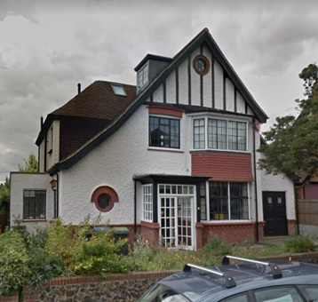 74 Pierremont Avenue, Broadstairs, England; Google Streets, searched December 22, 2018; image dated July 2012.