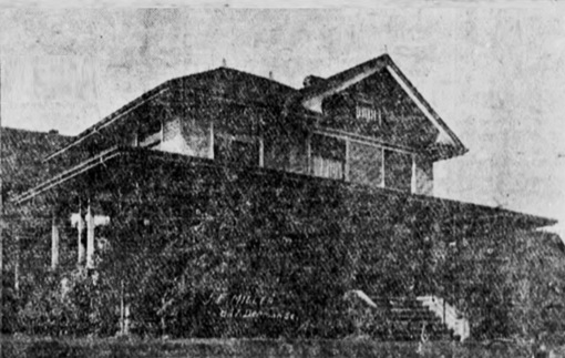 847 Denman Street (home of J.E. Miller); Vancouver Province, September 9, 1905, page 13, columns 1-2.