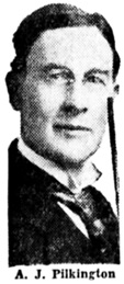 A. J. Pilkington, Vancouver Sun, February 20, 1935, page 1, column 1.