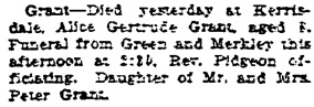 Vancouver Sun, October 10, 1912, page 4, column 1.