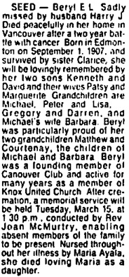 Vancouver Sun, February 16, 1994, page 22, column 7.