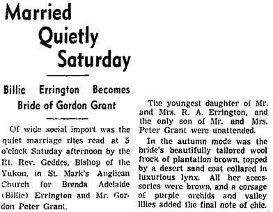 Vancouver Sun, August 26, 1940, page 6, column 4.
