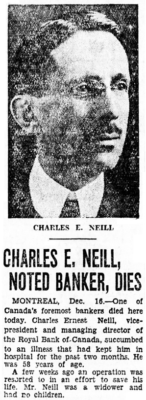 Vancouver Sun, December 16, 1931, page 19, column 6.