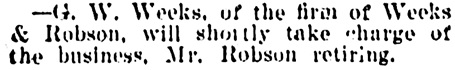 Vancouver Daily World, April 4, 1901, page 8, column 2.