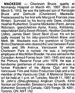 Vancouver Sun, March 8, 1997, page 20, column 2.