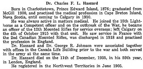 Alberta Medical Bulletin, volume 1, number 5, April 1936, page 34.