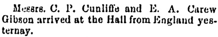 The Gazette (Montreal), July 13, 1887, page 5, column 2.