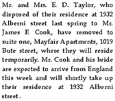 Vancouver Province, August 8, 1911, page 5 [transcribed].