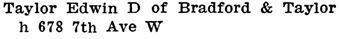 Henderson's City of Vancouver Directory, 1908, page 971.
