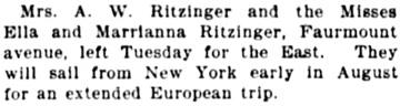 Star Tribune (Minneapolis, Minnesota), July 30, 1899, page 15, column 3.