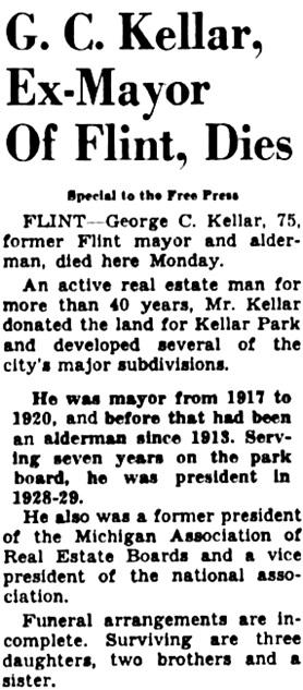 Detroit Free Press, September 21, 1954, page 10, column 4.
