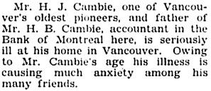 The Chilliwack Progress, April 19, 1928, page 2, column 4.