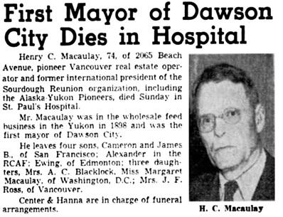 Vancouver Sun, April 24, 1944, page 20, columns 7-8.