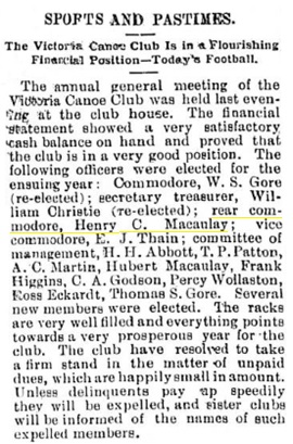 Victoria Daily Colonist, April 1, 1897, page 8, column 3.