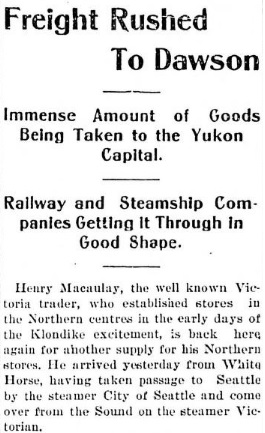 Victoria Daily Colonist, September 14, 1900, page 5, column 3; http://archive.org/stream/dailycolonist19000914uvic/19000914#page/n4/mode/1up.