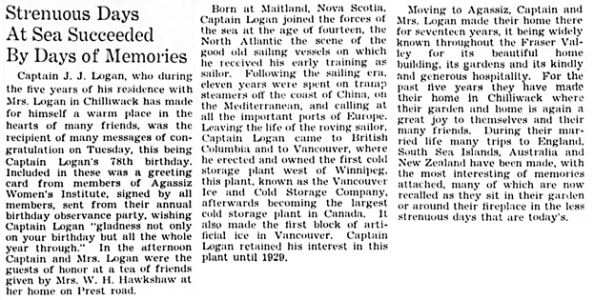 The Chilliwack Progress, March 26, 1936, page 2, column 7.