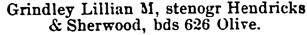 St Paul, Minnesota, City Directory, 1890, page 594.