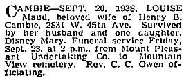 Vancouver Sun, September 21, 1938, page 17, column 1; https://news.google.com/newspapers?id=w-xlAAAAIBAJ&sjid=HokNAAAAIBAJ&pg=4134%2C2845949.