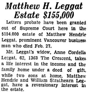 Vancouver Sun, June 10, 1936, page 4, column 8.