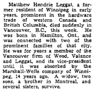 Winnipeg Free Press, March 7, 1936, page 2, column 7; https://archives.winnipegfreepress.com/winnipeg-free-press/1936-03-07/page-2/.