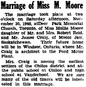 Nechako Chronicle, December 7, 1940, page 1, column 4; http://archive.vanderhooflibrary.com/archive/NechakoChronicle/1940/19401207/nc-1940-12-07-01.pdf.