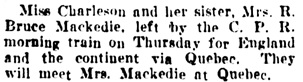 Vancouver Daily World, July 18, 1908, page 12, column 1.